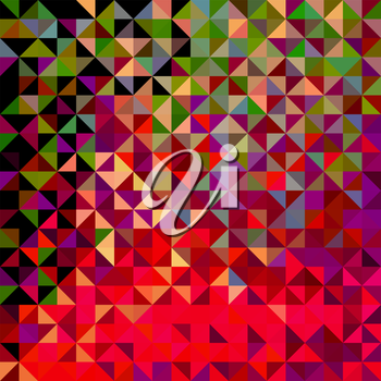 Royalty Free Clipart Image of an Abstract Geometric Background