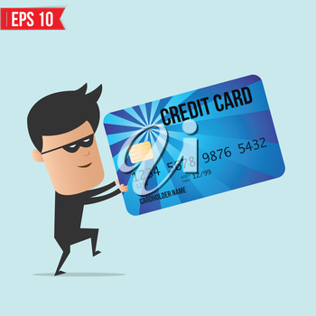 A thief with a credit card