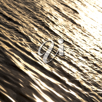 blur  in south africa sea indian ocean and abstract gold wave for sunset