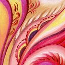 Abstract artistic background. Picture, pastel, hand-draw
