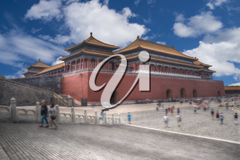 The Forbidden City is the largest palace complex in the world. Located in the heart of Beijing, China