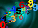 Counting Mathematics Indicating Numbers Backdrop And Template