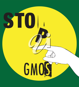 Stop GMOs Concept Design, AI 10 supported.