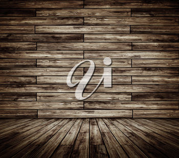 Parquet background 3d rendering. All textures my own