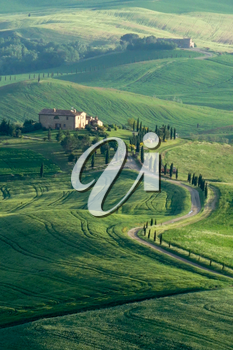 Countryside of Val d'Orcia Tuscany